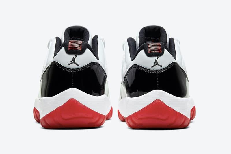 Air Jordan 11 Low 人氣配色「White Bred」官方圖輯發佈