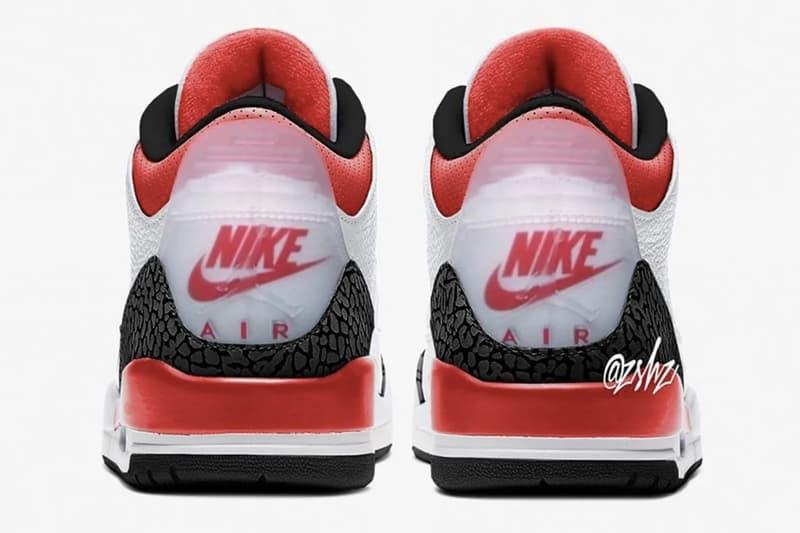Air Jordan 3 人氣配色「Fire Red」將以全新雙 Logo 設計呈現?