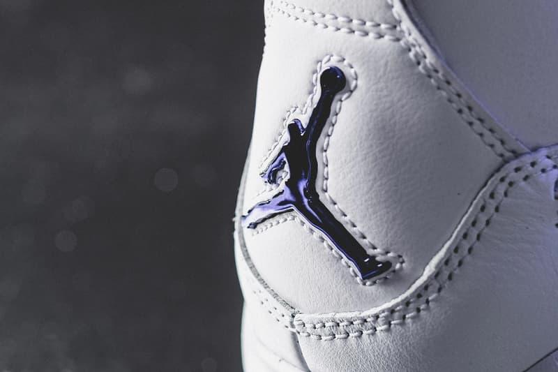 Air Jordan 4 全新配色「Metallic Purple」近賞圖輯、發售日期公開