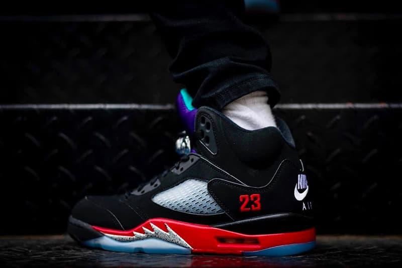 Air Jordan 5 最新配色「Top 3」全新上架日期正式公開