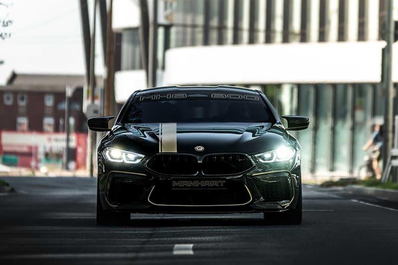 MANHART 打造 BMW M8 Competition Coupe 全新動力強化車型