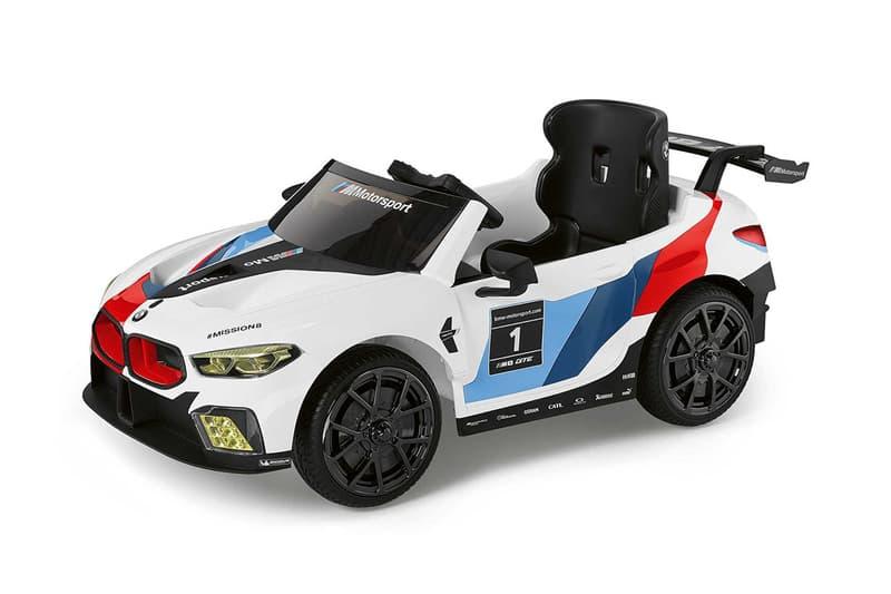 BMW 推出全新兒童尺寸 M8 GTE 電動車