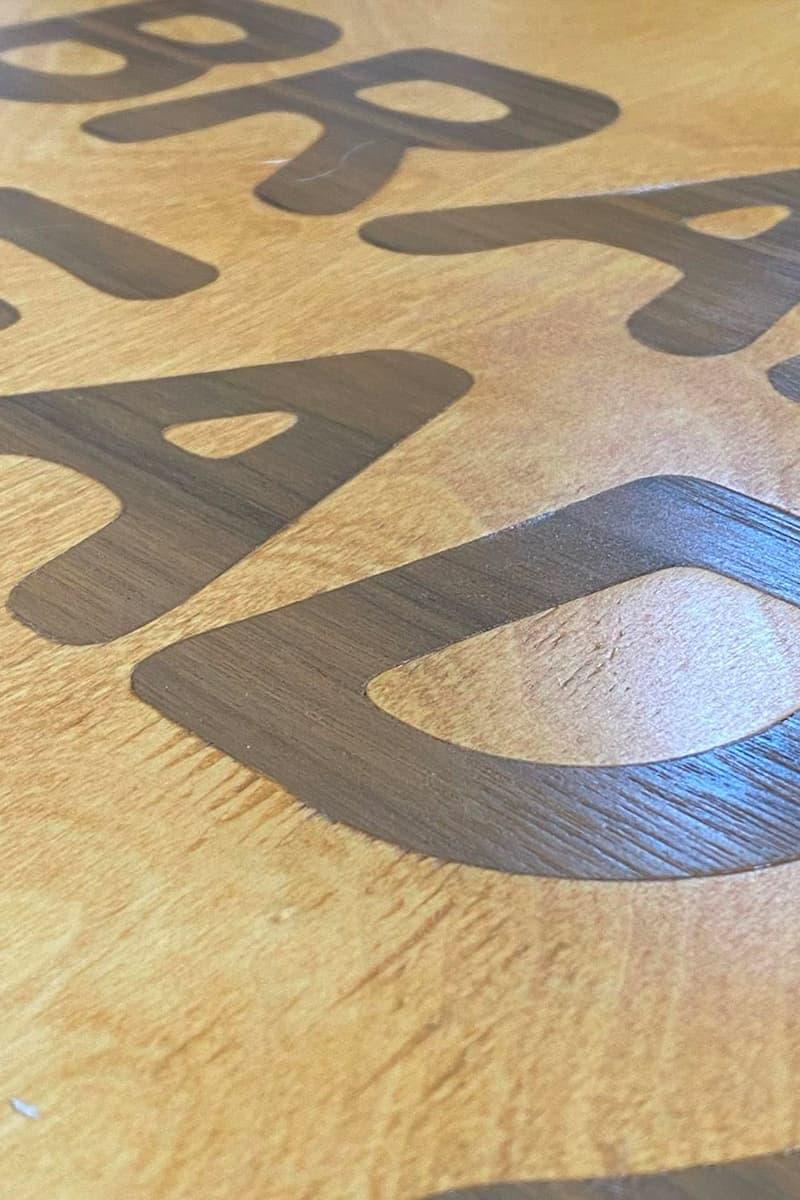Brain Dead 攜手 Modernica 打造別注手工造型咖啡桌