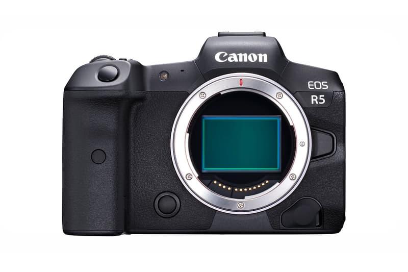 Canon 品牌史上最佳之全片幅無鏡相機 EOS R5 發佈