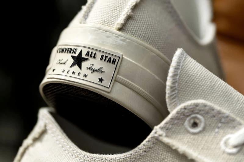 Converse 推出全新 Renew Canvas 系列 Chuck 70 鞋款