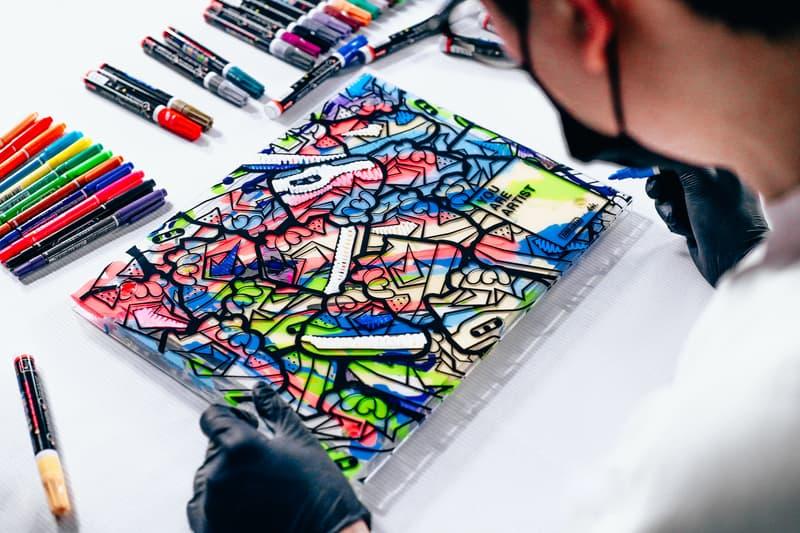 DBRukia 打造「我们都是艺术家」DIY 特殊鞋盒