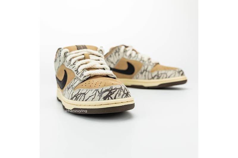 Travis Scott x Nike SB Dunk Low 聯乘最新 Sample 鞋款清晰圖輯曝光