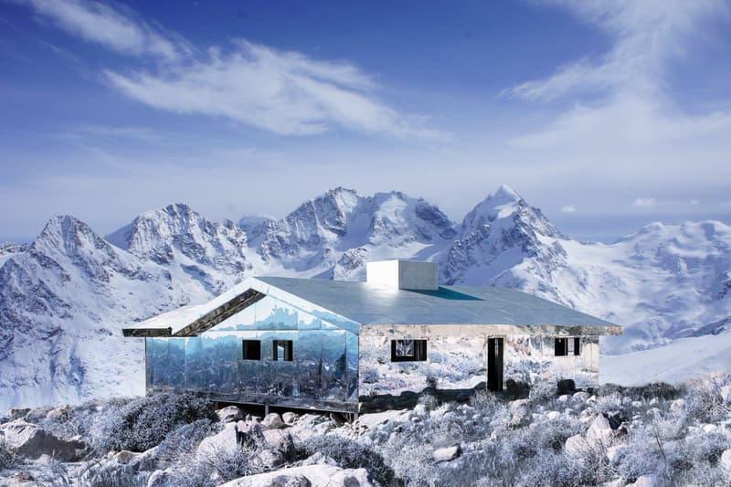 走進隱身於雪山之鏡面小屋:Mirage Gstaad