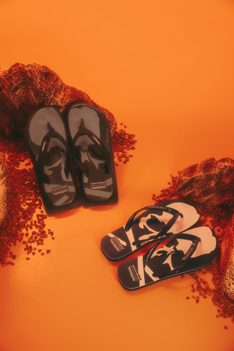 以街头时尚感重塑经典-Havaianas 联乘 mastermind JAPAN 拖鞋系列