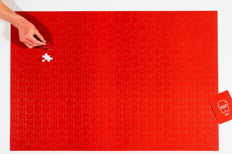 Heinz 推出全新 570 片「全紅」番茄醬拼圖