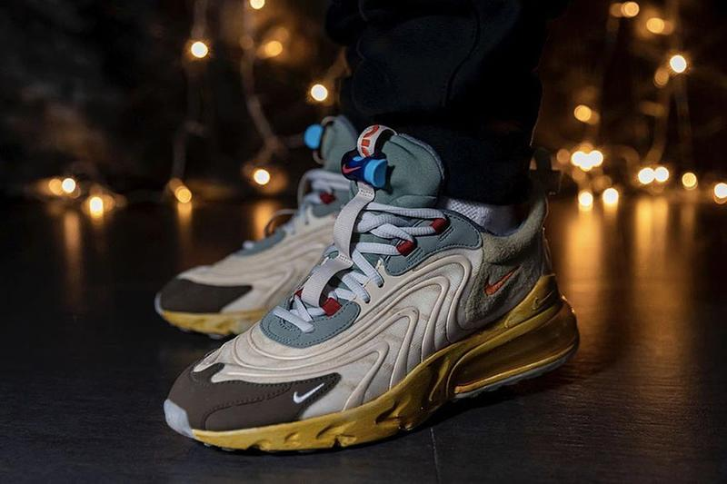 Travis Scott x Nike Air Max 270 React 聯乘鞋款最新發售日確認