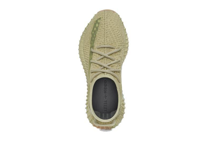 adidas YEEZY BOOST 350 V2 新配色「Sulfur」官方圖輯及上架情報公開