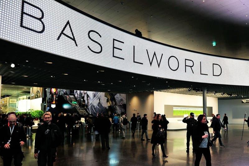 瑞士鐘錶展 Baselworld 2021 正式取消
