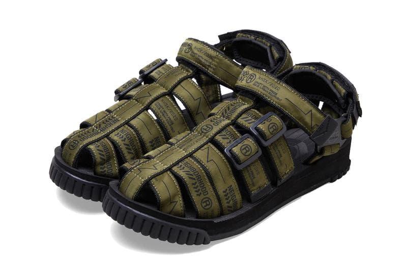 NEIGHBORHOOD x SHAKA 聯名別注 Hiker 涼鞋款式