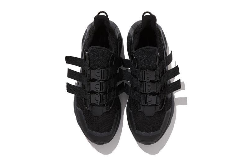 White Mountaineering x adidas Originals 聯名 LEXICON 鞋款黑化上架