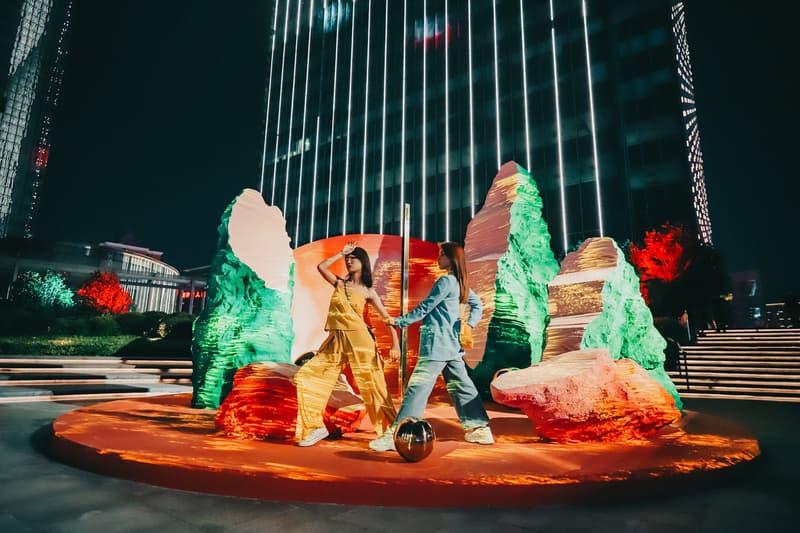 长沙 IFS 携手艺术家林子楠打造全新艺术装置