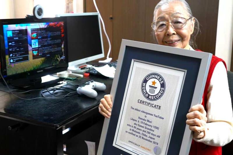 日本 90 歲老奶奶榮獲 Guinness World Record 認證「世界最高齡之遊戲實況主」