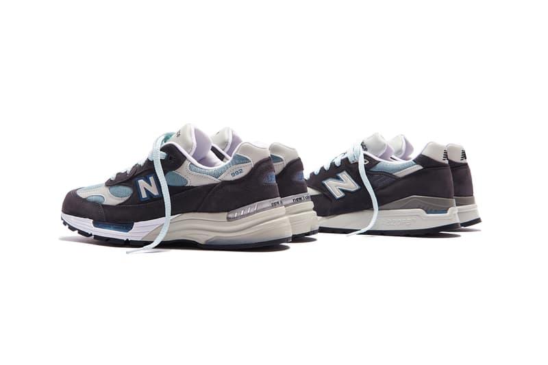 系列全收!KITH 發佈全新 New Balance 992 & 998 鞋款聯乘