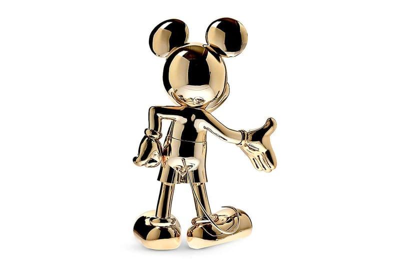 Leblon Delienne 推出 Mickey Mouse 迎賓造型鍍金雕像