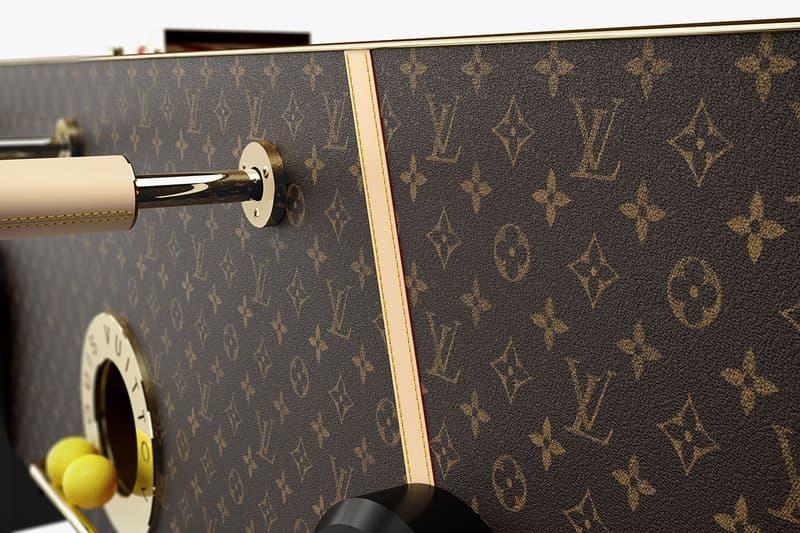 Louis Vuitton 推出全新手工定製奢華手足球台