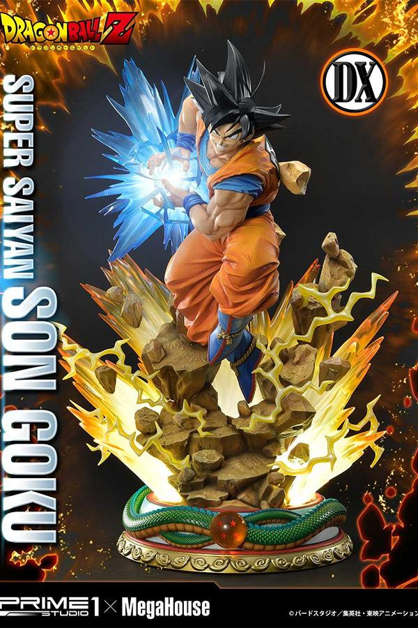 MegaHouse x Prime 1 Studio 聯乘《Dragon Ball Z》悟空 Super Saiyan 型態雕像