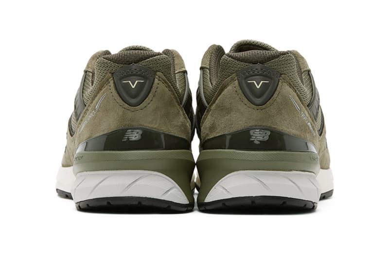New Balance 全新美製 990v5「Covert Green」配色正式發佈