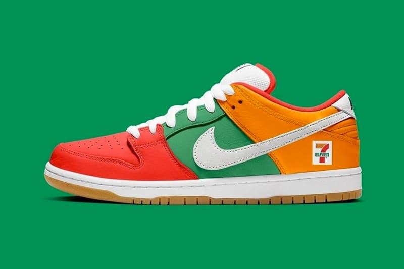 話題聯乘鞋款 7-ELEVEN x Nike SB Dunk Low 發售計畫取消