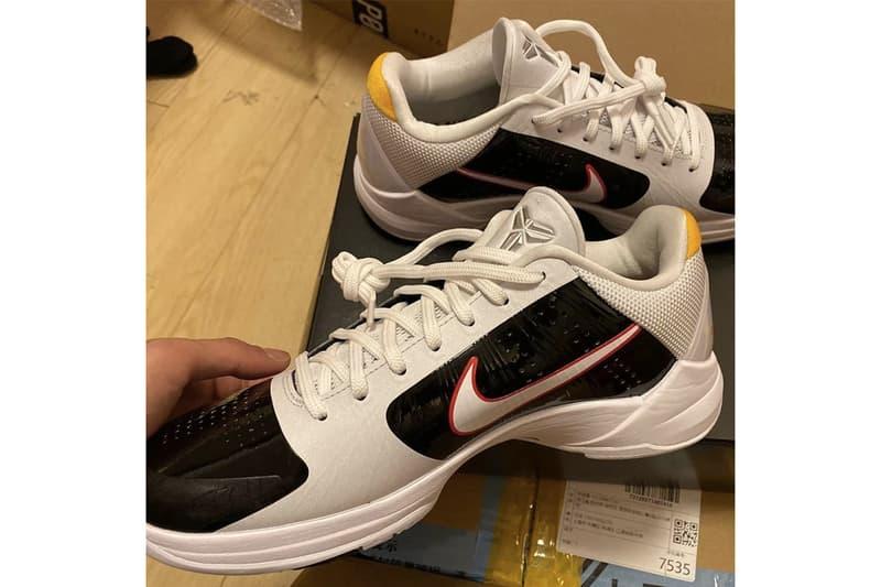 預覽 Nike Kobe 5 Protro 最新配色「Bruce Lee」