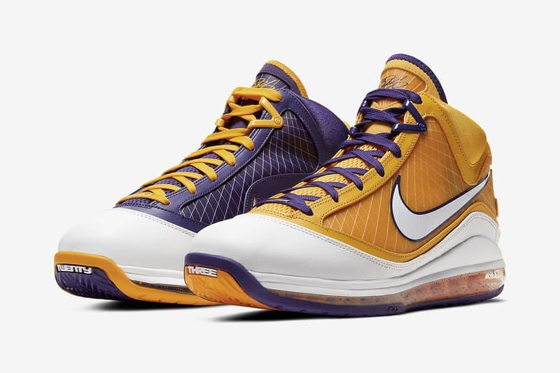 紫金王朝!Nike LeBron 7 全新配色「Media Day」正式發佈