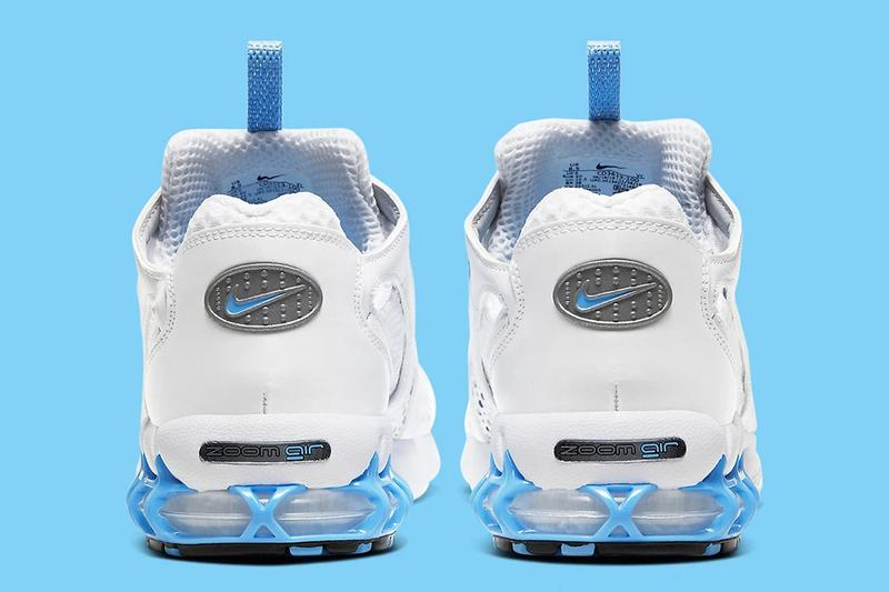 Nike Zoom Spiridon Cage 2 全新「University Blue」藍白配色發售情報公開