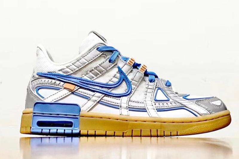 首度曝光!Off-White™ x Nike Air Rubber Dunk 最新配色「University Blue」
