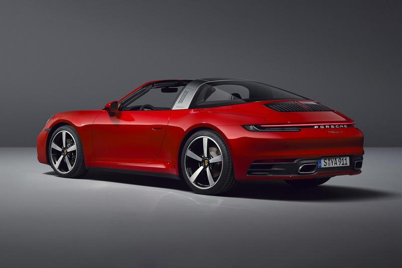 Porsche 推出全新 2021 年式樣 911 Targa 4 及 4S 車款