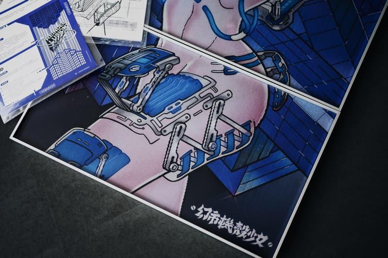 REINDEE LUSION 携手插画师 EN 打造「幻市机壳少女」联名企划