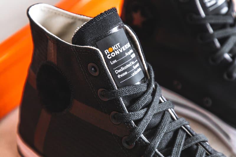 近賞 ROKIT x Converse Chuck 70 聯名鞋款