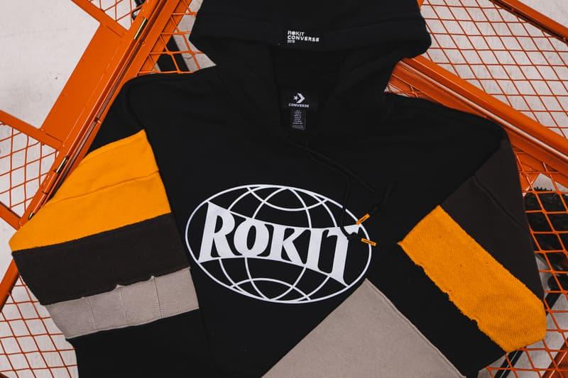 ROKIT x CONVERSE 全新联名系列发售详情公开