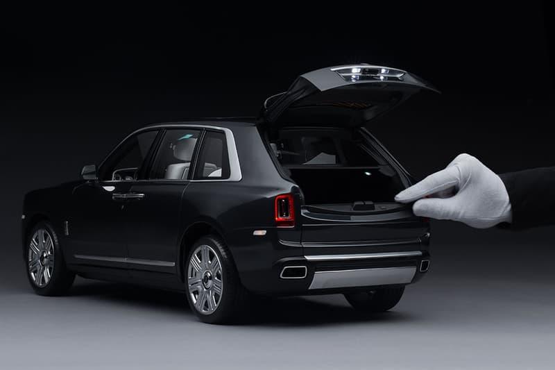 Rolls-Royce 推出 1:8 高度還原 Cullinan 模型車