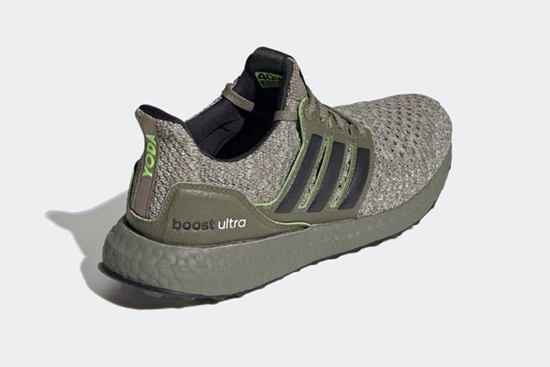 《Star Wars》x adidas UltraBOOST DNA「Yoda」聯乘鞋款曝光