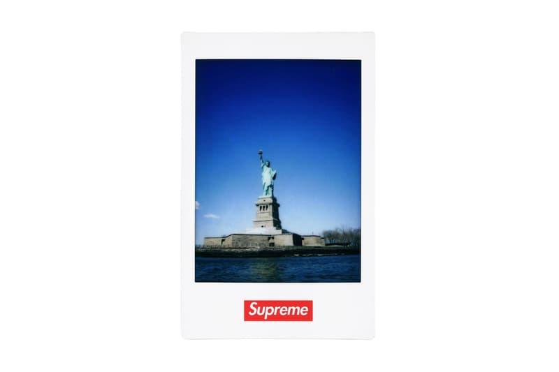 即影即有!Supreme x Fujifilm Instax® Mini 相紙本週正式上架