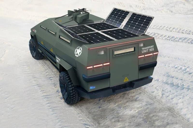 網民打造 Tesla Cybertruck「軍事行動」概念車型