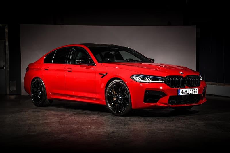 BMW 發表全新 2021 式樣 M5 及 M5 Competition 車款