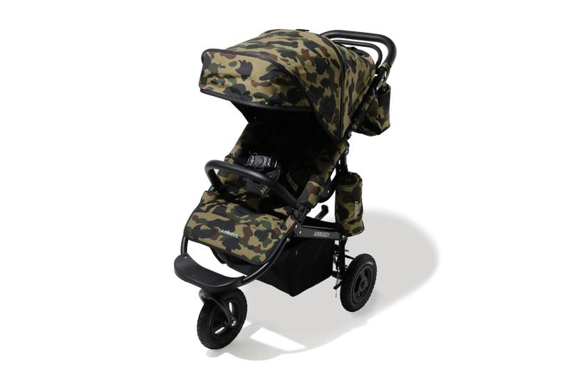 A BATHING APE® x AirBuggy 全新聯乘嬰兒推車發佈