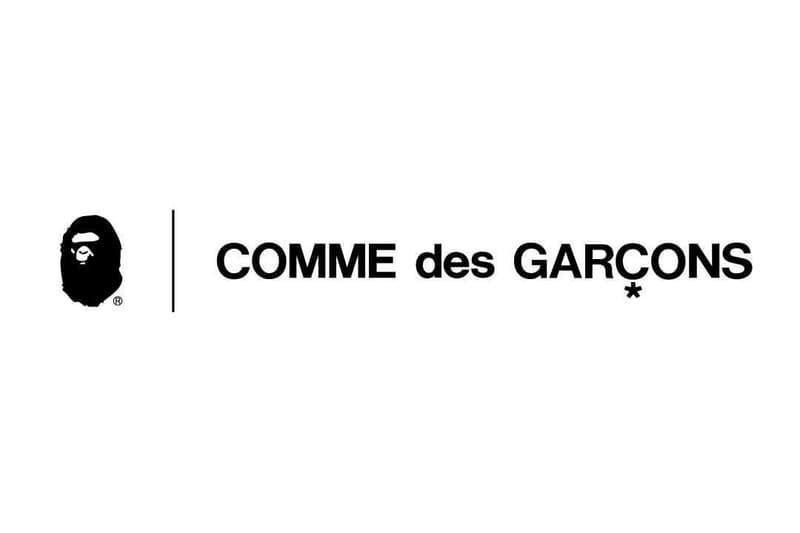 A BATHING APE® x COMME des GARÇONS 聯乘企劃預告