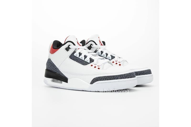 率先近賞 Air Jordan 3 SE DENIM 最新配色「Fire Red」