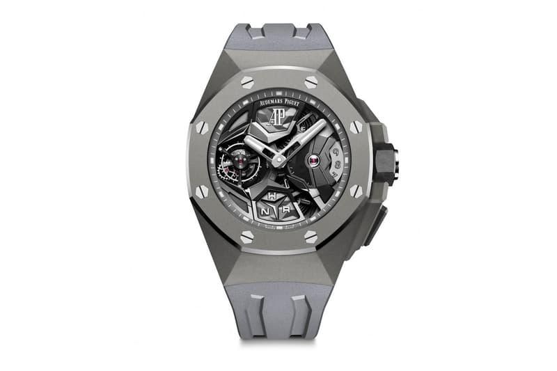 Audemars Piguet 發表全新 2020 Royal Oak Concept Flying Tourbillon GMT 腕錶