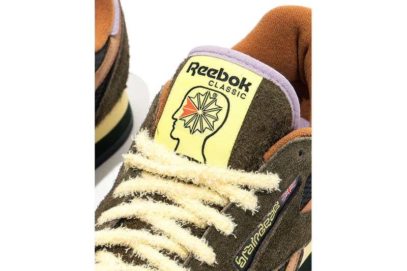 Brain Dead x Reebok 全新聯乘鞋款 CL LEATHER MU 正式發佈