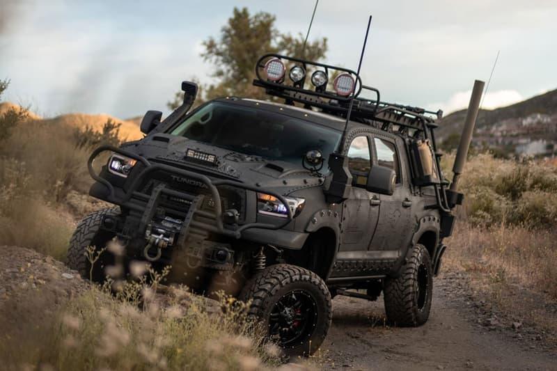 Toyota 強悍戰術改裝車型 Tundra 4×4 即將展開拍賣