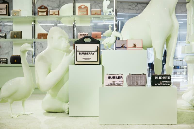 Burberry 于上海开设全新限时精品店