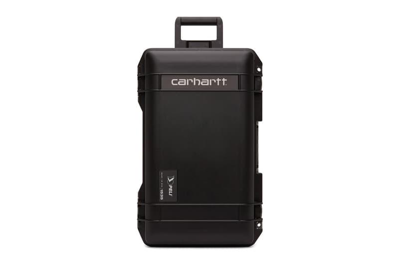 Carhartt WIP 聯乘 Pelican 推出隨身安全旅行攜帶箱