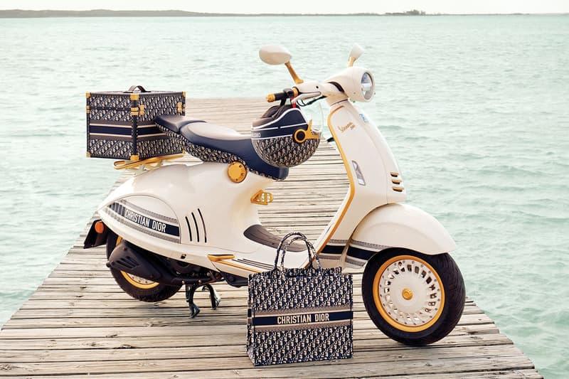 Dior 攜手 Vespa 打造全新聯乘 946 電單車