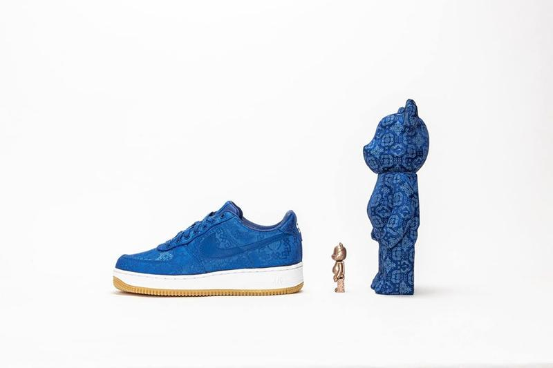 CLOT x Nike x Medicom Toy 三方聯乘 BE@RBRICK 發售情報